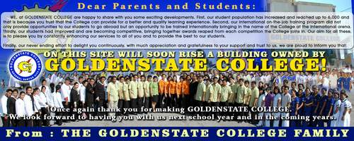 Golden State College Small Pix