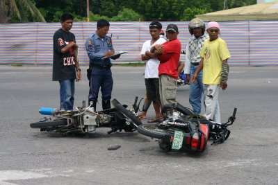 Traffic Mishap incident