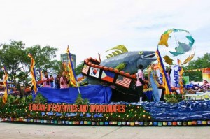 San Andres Fishing Industries, Inc. Float