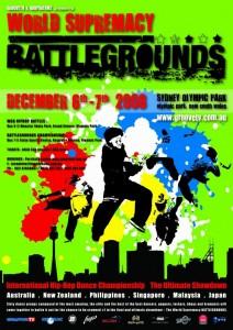 World Supremacy Battlegrounds Poster