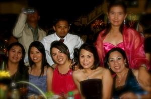 Janice Tiu and friends