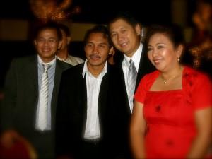 Tom Falgui, Rommel Pacquiao, Mayor Jun