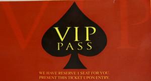 Pacquiao Birthday Party VIP Pass