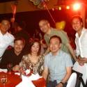 Manny's Accountant Richard Querido, Businessman Clem Asencio & wife Yvonne, Solar Sports Rico Arce, Peter Chanliong, Wilson Tieng and Pacman bodyguard Jojo