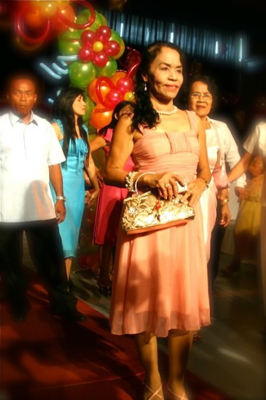 Hot Lola Dionisia Pacquiaoa at Queenie's christening