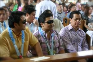 Senators Bong Revilla, Jinggoy Estrada & Vice Pres Noli de Castro
