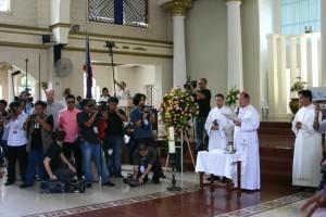 Davao Bishop Capalla & Fr. Edward Loberiano, CP