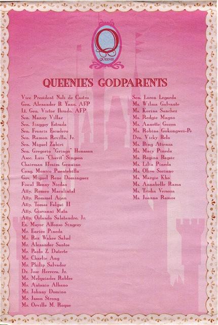Queenie Pacquiao Baptismal Invite