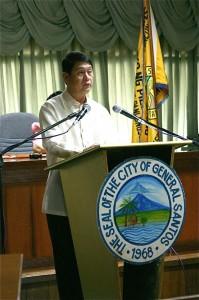 Mayor Jun Acharon