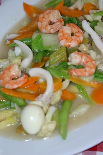 Kiko's Seafood Chopsuey