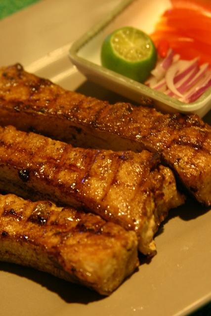 Kiko's Grilled Tuna Belly