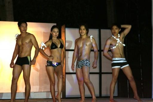 Past Bikini Hunks and Babe