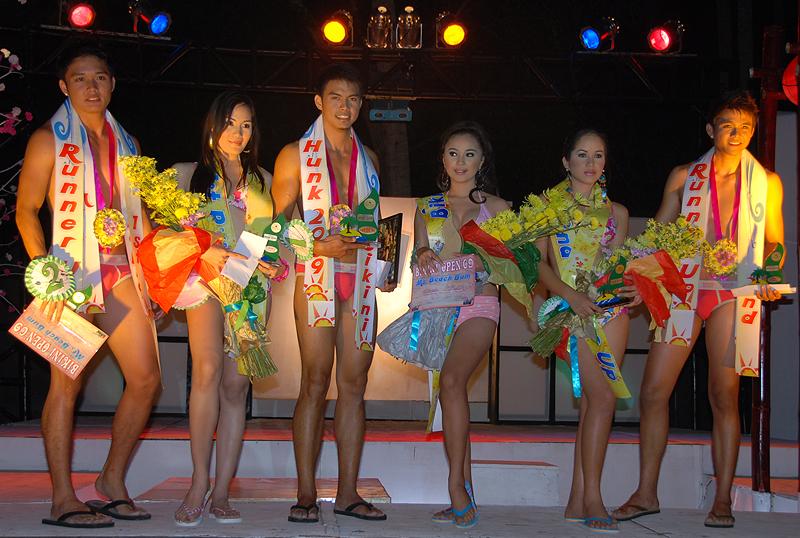 Bikini Open Hunk and Babe 2009 Winners