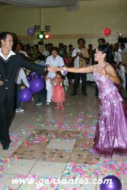 Swinging debutante