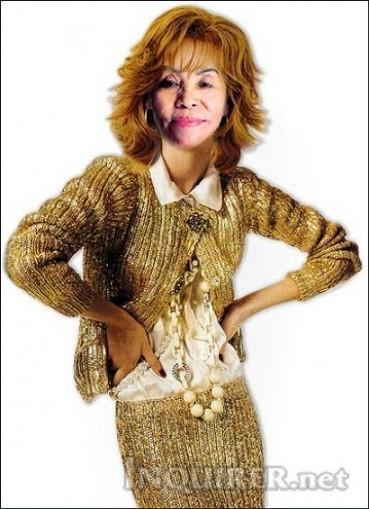 Fashionista Dionisia Pacquiao