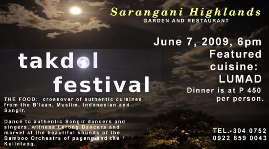 Takdol Festival Poster