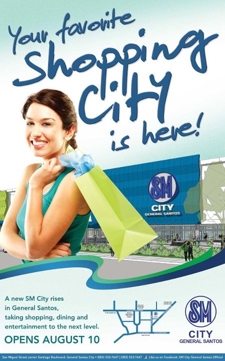 it u0026 39 s official  sm city gensan opens august 10