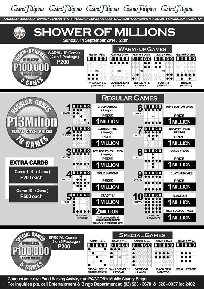Gensan Bingo, Casino Filipino Gensan, Gensan City Tourism