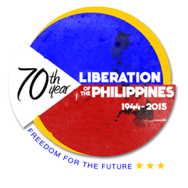 70th Liberation of the Philippines Logo