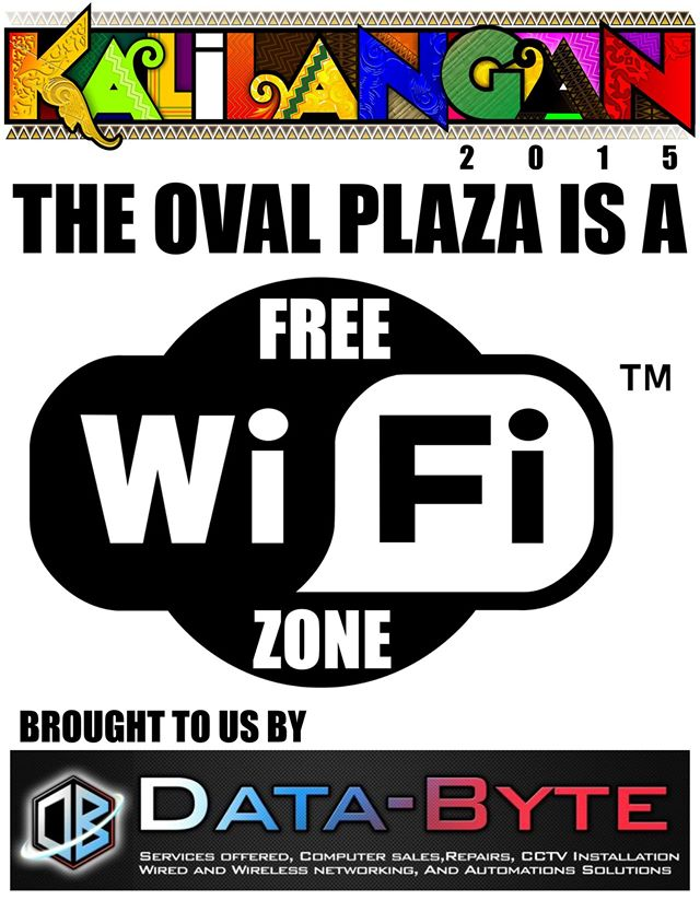 FREE WIFI AT OVAL PLAZA