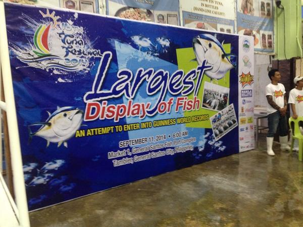 largest fish display, gensan