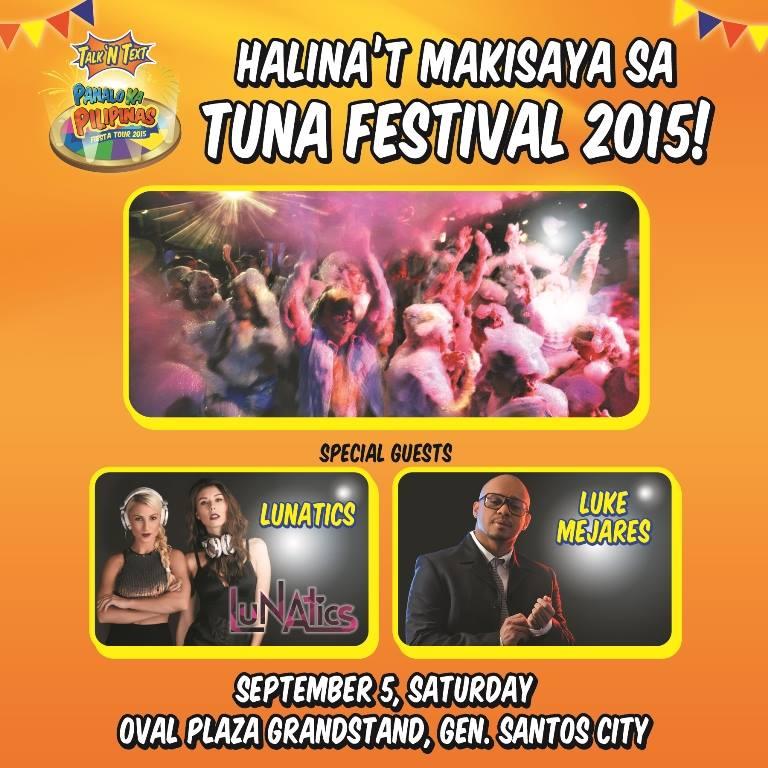 talk n text at tuna festival