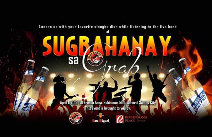 Reasons why Sugbahanay Sa Grab is Gensan's must-go-to Barbecue-Themed Party on April 1