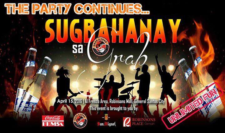 The Party Continues: Catch Sugbahanay sa Grab's #UnlimitedDelights, April 15th tonite