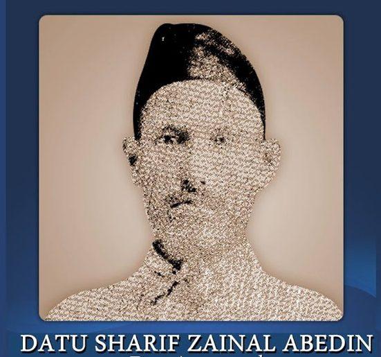 First Mayor of Gensan, Datu Sharif Zainal Abedin