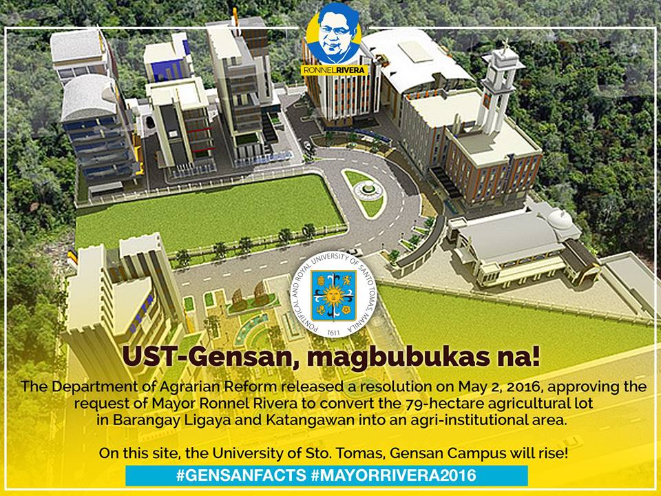TRENDING: DAR grants Mayor Rivera's request for land use conversion of UST lot to agri-institutional