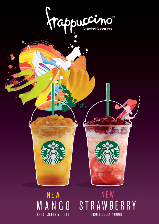 Starbucks releases new fun-filled Frappuccino flavors for a limited time only!