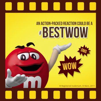 M&M'S Screenbite Awards BestWOW