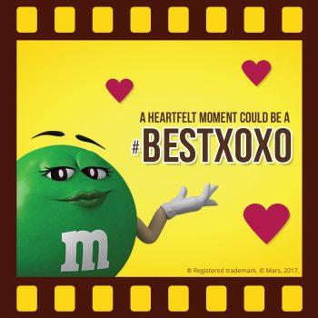 M&M'S Screenbite Awards BestXOXO