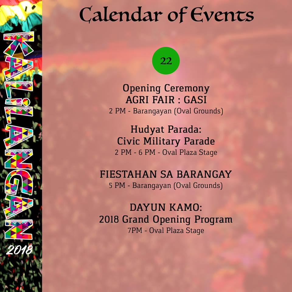 kalilangan festival february 22