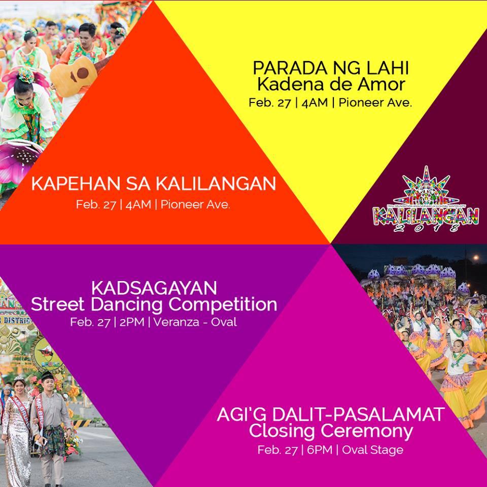 kalilangan festival 2018 schedule of activities