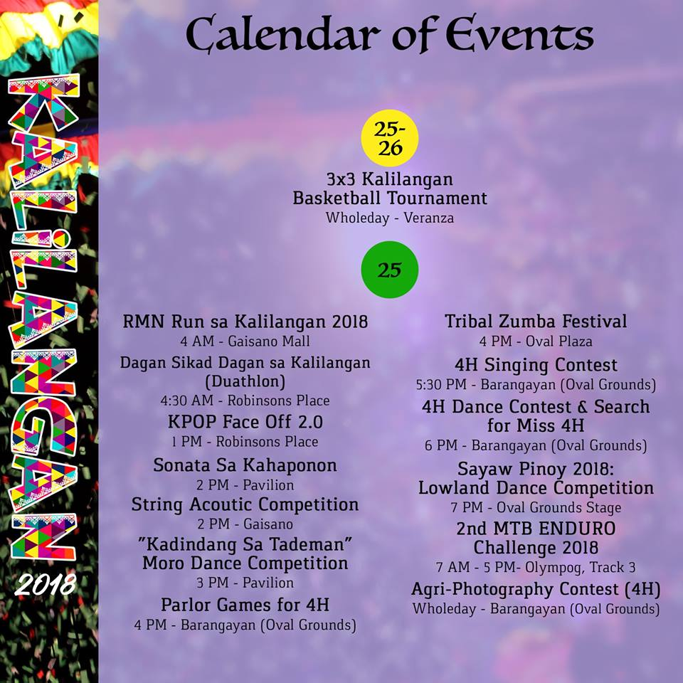 kalilangan festival february 25