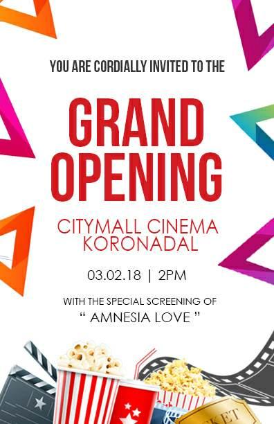 CityMall Cinema Koronadal Opening