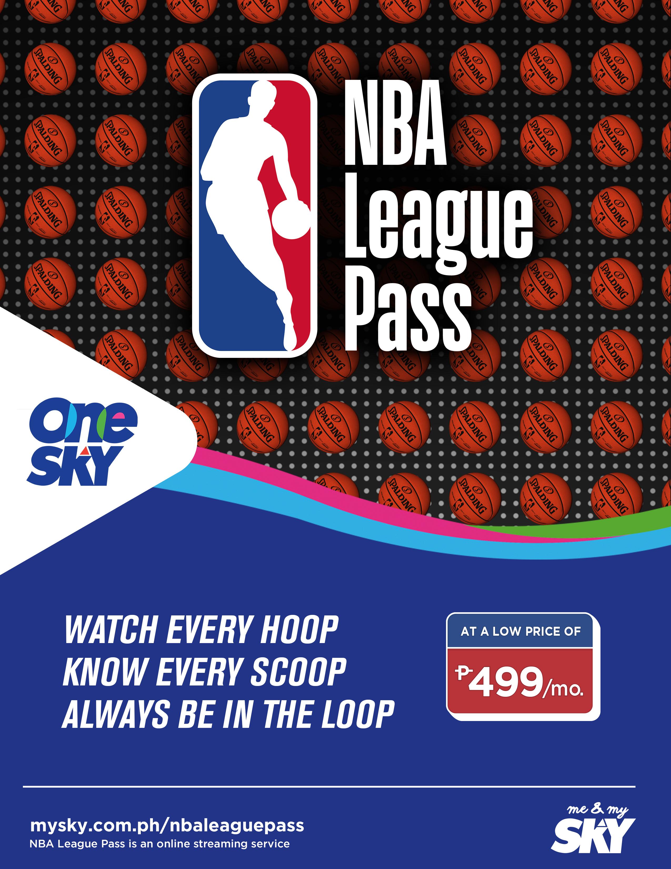 skycable nba league pass